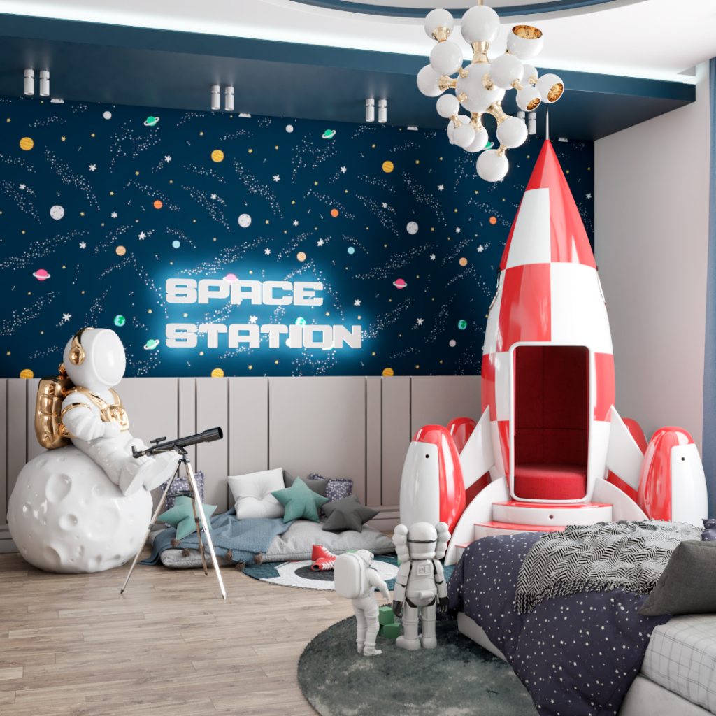An Outer Space Mission by Renata Aquino from Cozy Studio