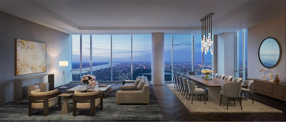 Central Park Tower Building | Inside of one residence