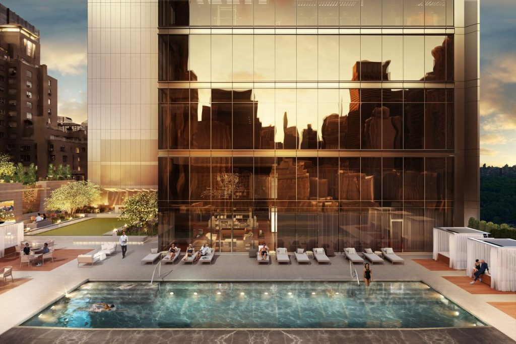 Central Park Tower Building | Outdoor Pool