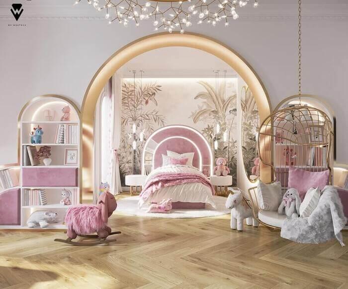 1. KIDS' ROOM   Blossom Fairytale