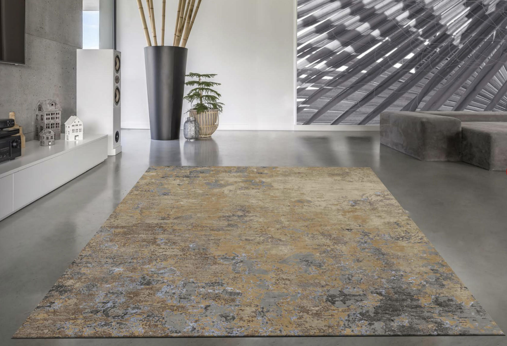 RUMI Galerie rugs as a piece of art
