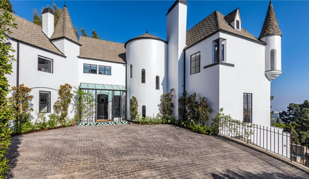 Hollywood Hills Castle Home