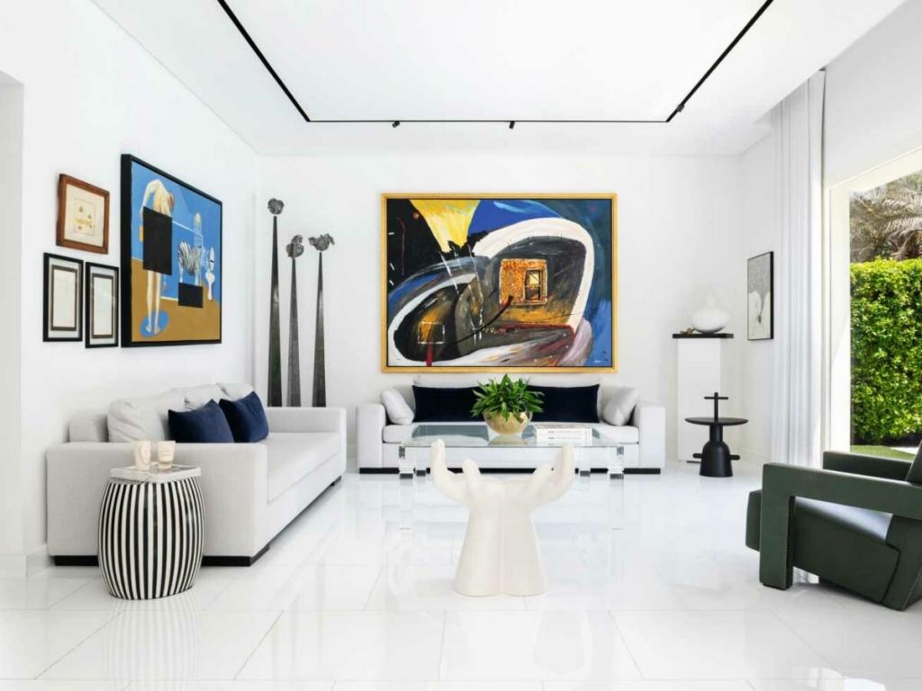 Sam Farhang: A Dubai's Calm and Contemporary Home
