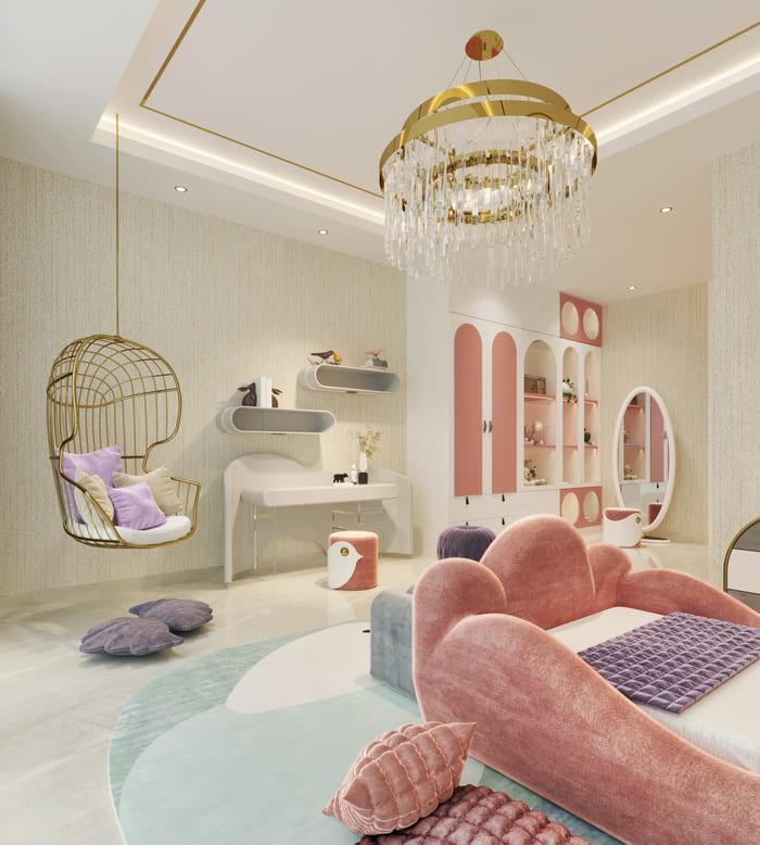 GIRLS' BEDROOM | LITTLE RISING STAR BEDROOM