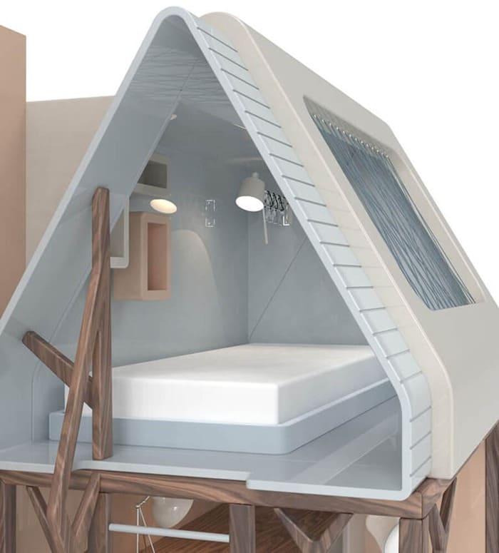 Kids' Furniture   Mogli Playhouse Bunkbed, Sleeping Area
