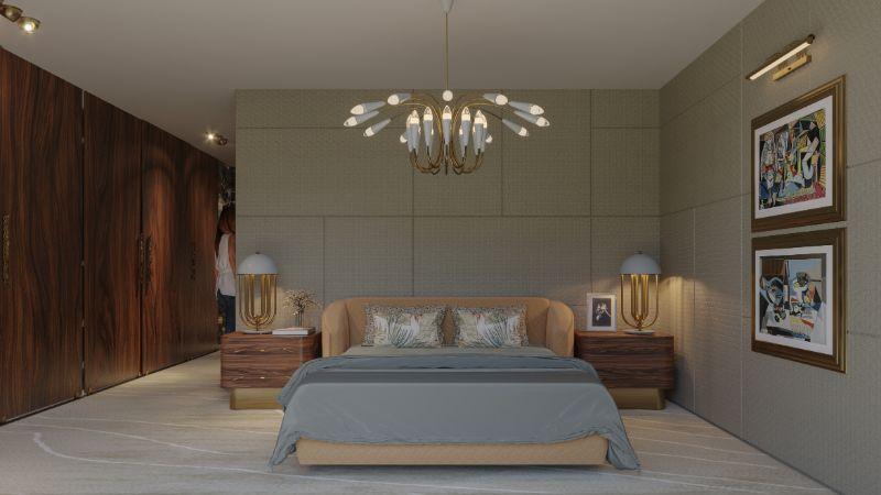 Tranquilidad Bedroom: The Master Bedroom Design of La Finca Home