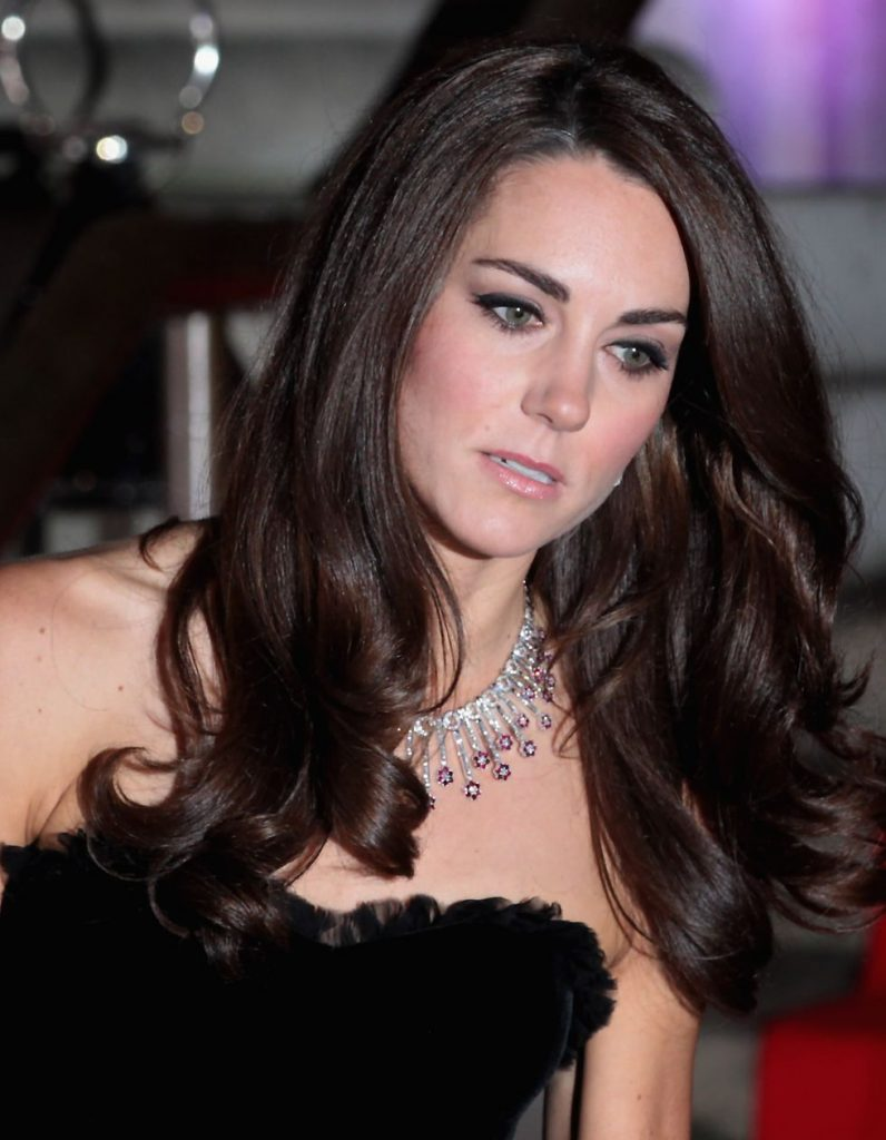 Royal   Kate's Ruby Necklace