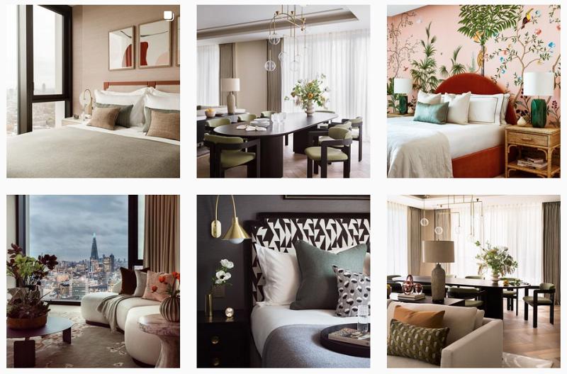 London Interior Designers With Amazing Instagram Profiles